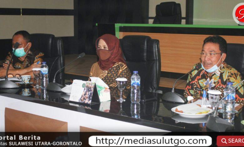 Rapat evalusi terkait persiapan tahapan Pilkada serentak di Kabupaten Gorontalo
