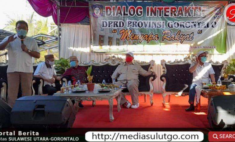 Dialog Interaktif DPRD Provinsi Gorontalo