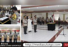 Photo of Kapolda Sulut Pimpin Sertijab Wakapolda dan Dua Kapolres