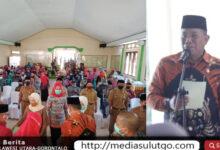 Photo of Bupati Bolmut Serahkan 14 SK Pejabat Sangadi, Ini Harapannya