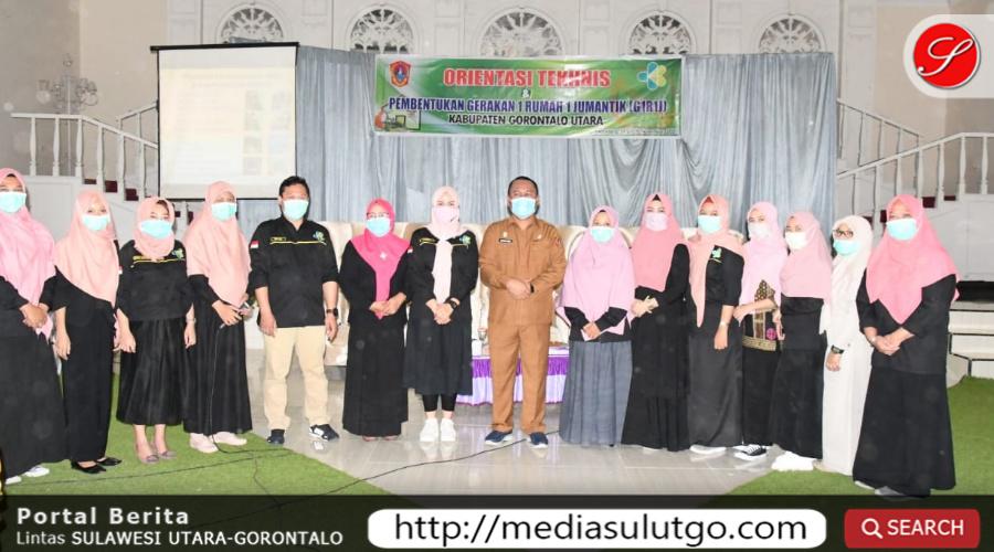 """Photo of Ridwan Yasin Buka Acara Orientasi Tekhnis """"G1R1J"""" Tingkat Kabupaten Gorut"""