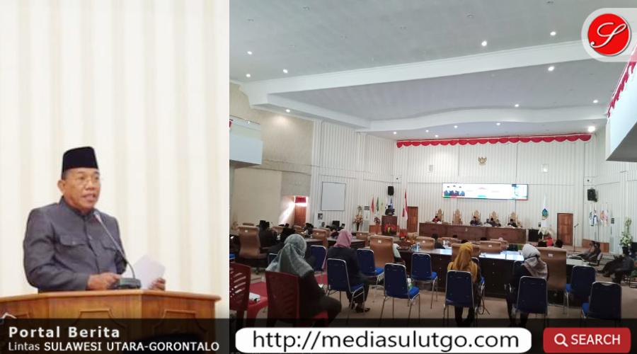 Photo of DPRD Bolmut Gelar Paripurna Penyampaian Ranperda tentang RAPBD Tahun 2021