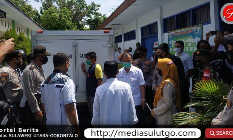 Distribusi vaksin di Kabupaten Gorontalo