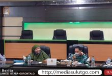 Rapat terakhir Nelson bersama Wabup Gorontalo